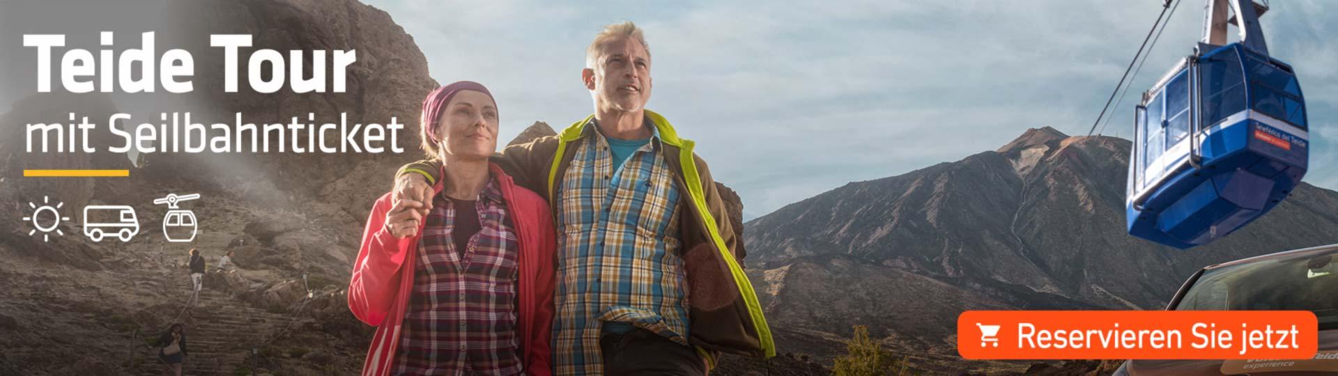 Ausflug zum Teide mit Seilbahnticket