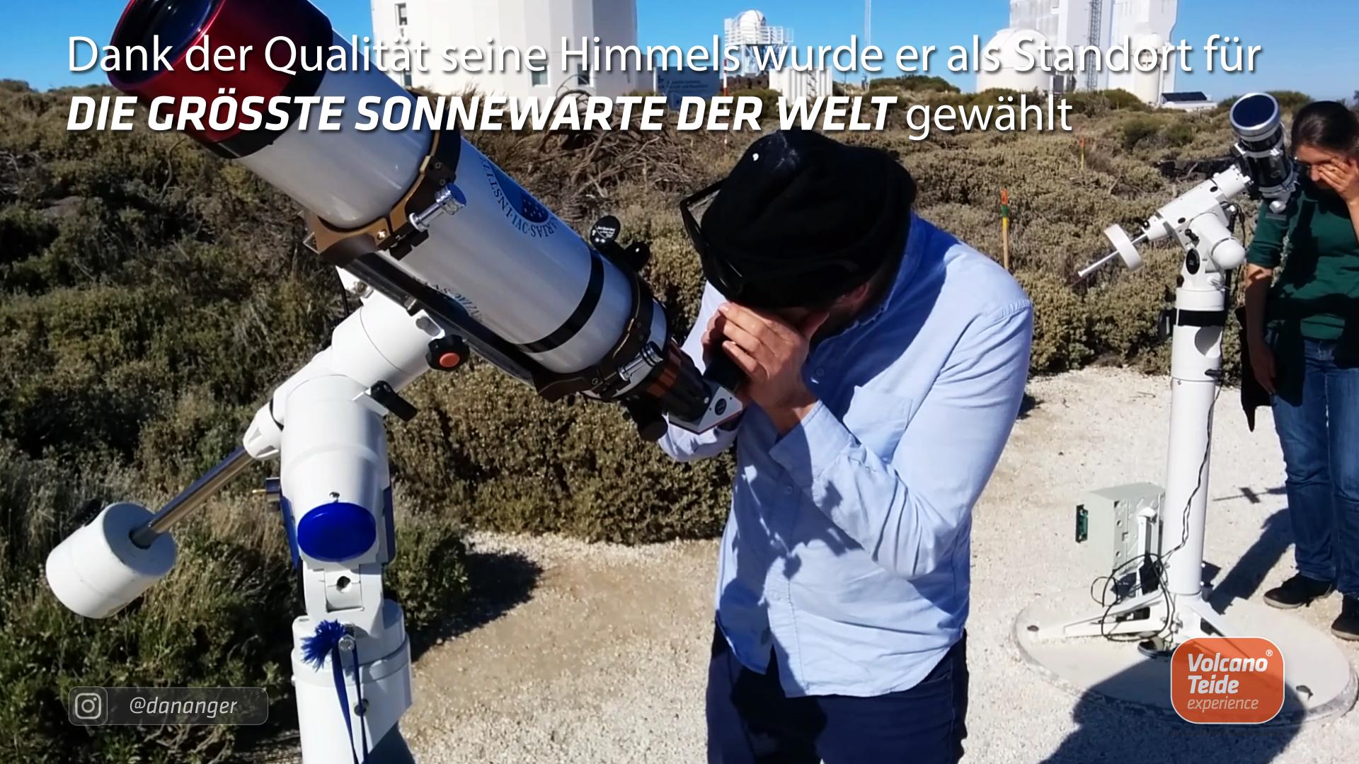 Besuch der Sternwarte des Teide