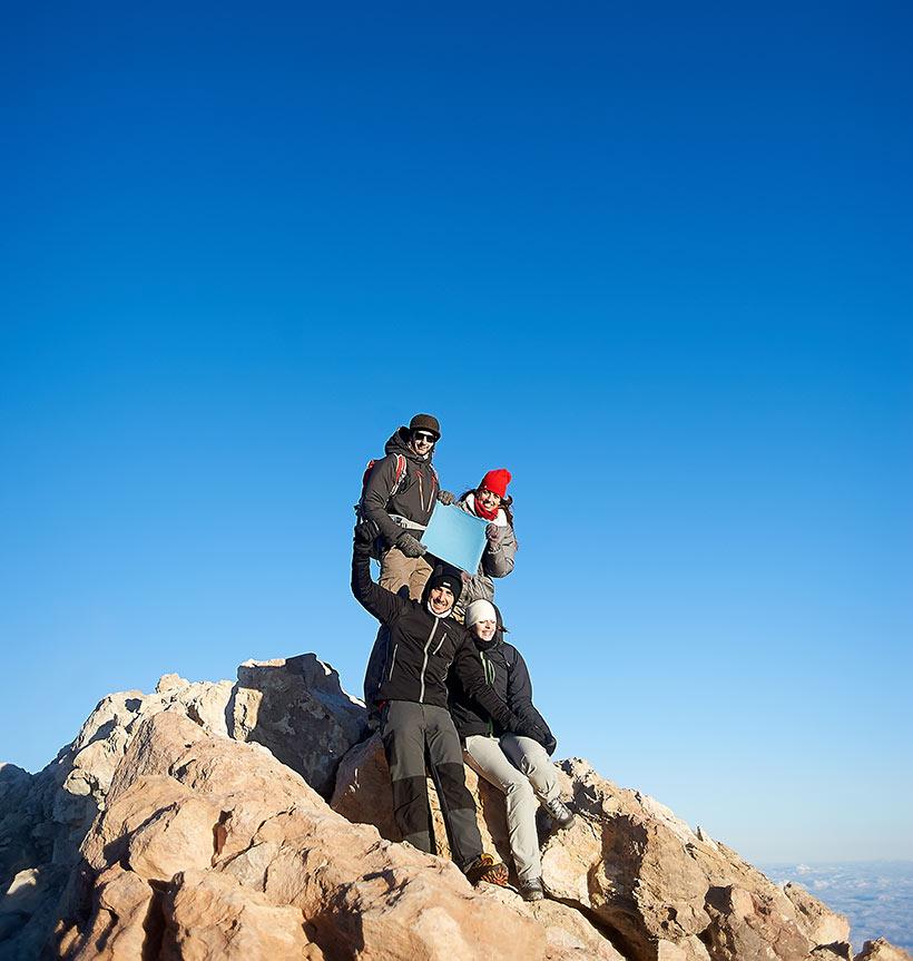 Gipfelbesteigung des Teide mit Seilbahn