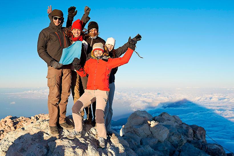Jak iść ubranym na wjazd kolejką na Teide i wspinaczkę na szczyt