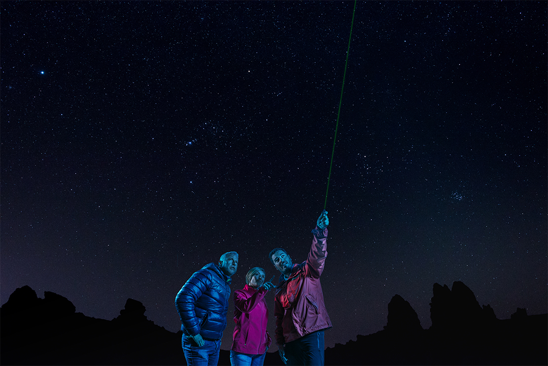 Organised excursion in Tenerife – Mount Teide by night