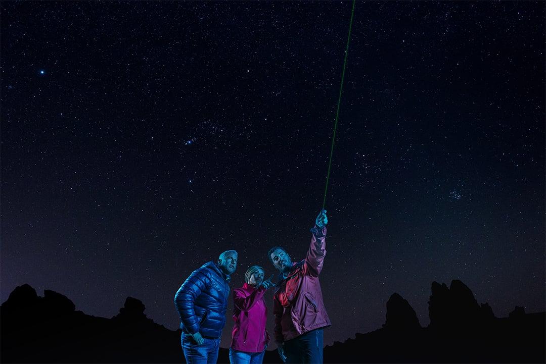 Excursion organisée à Tenerife - Teide de nuit