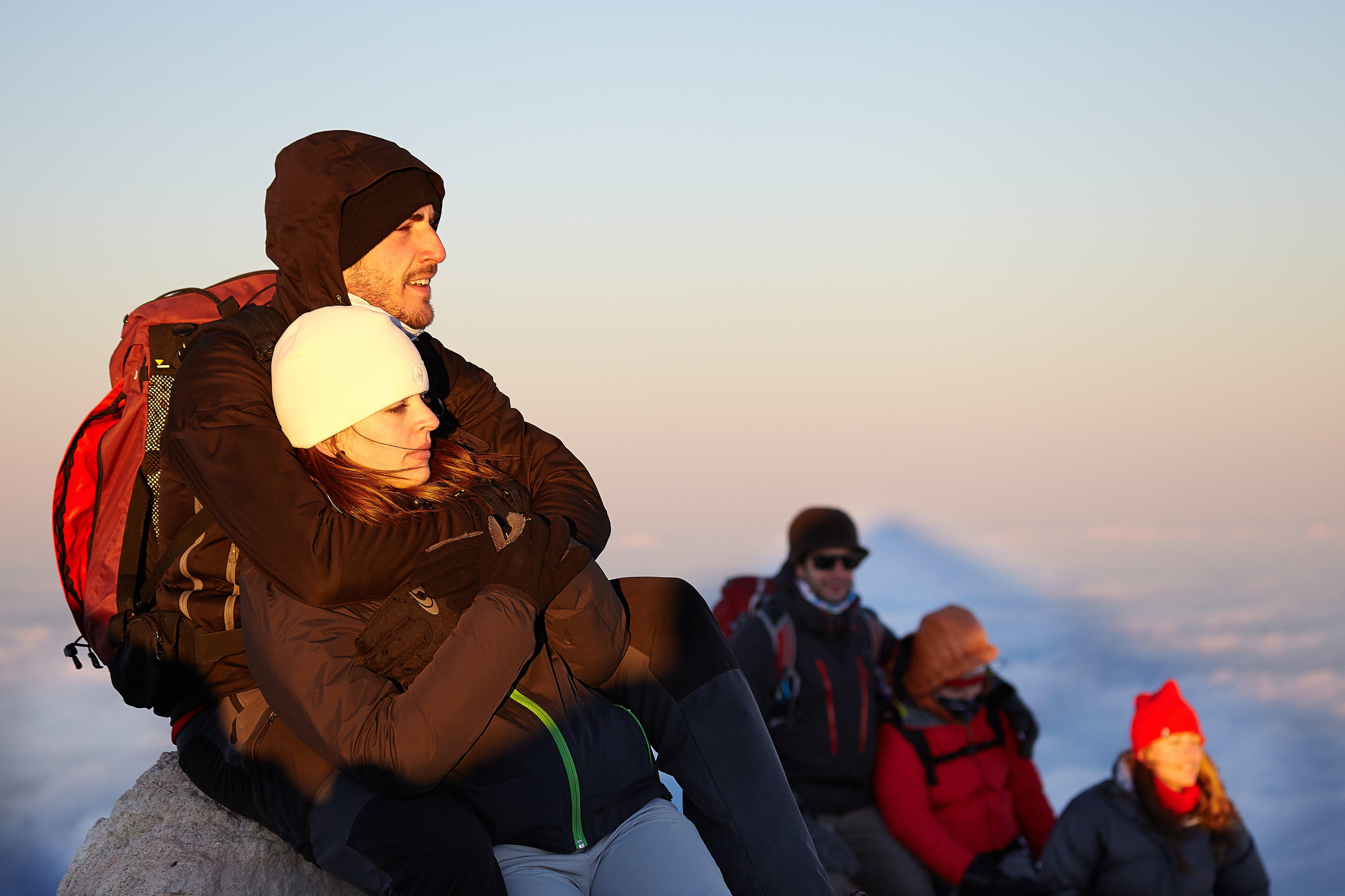 Salire sul cratere del Teide