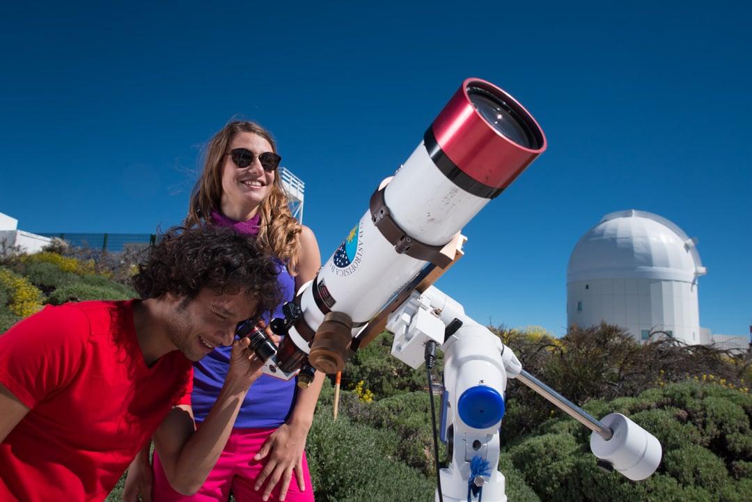 Führungen auf dem Teide -  Sternwarte des Teide am Tage