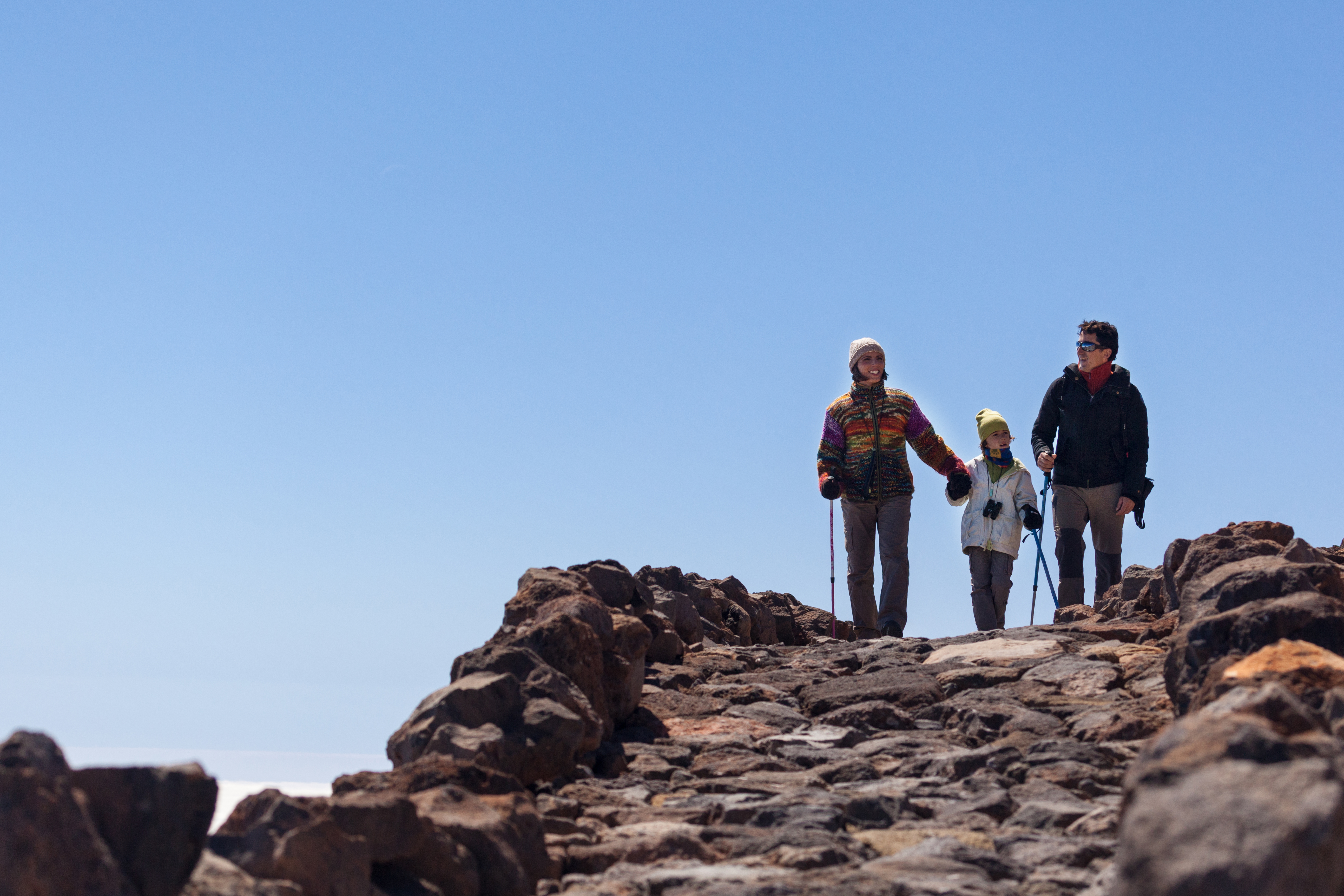 Visiting Teide with children and having a great family day out
