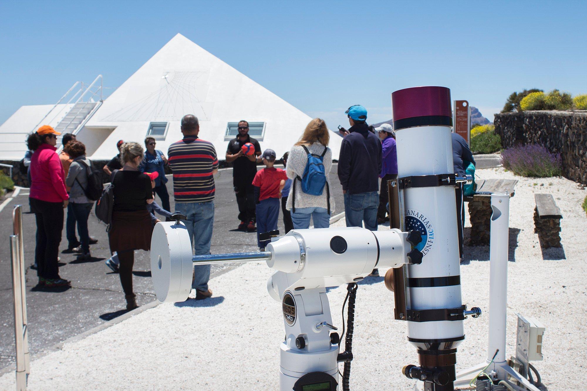 Visitare l'Osservatorio del Teide con bambini