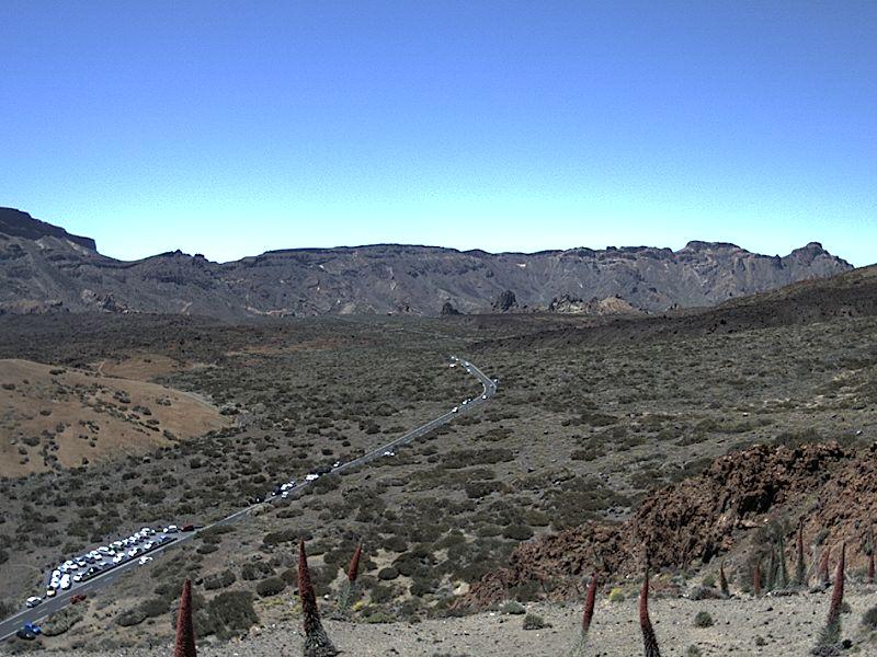 Hoe weet ik of de Kabelbaan de Teide open is - webcam Ucanca