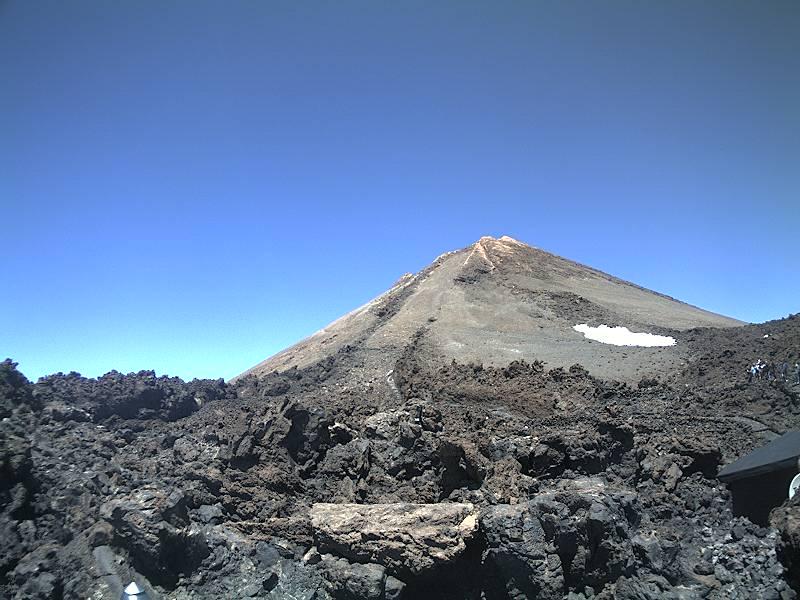 Hoe weet ik of de Kabelbaan de Teide open is - webcam