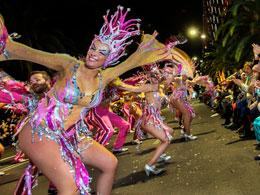 Carnevale Tenerife: sfilata di chiusura Coso