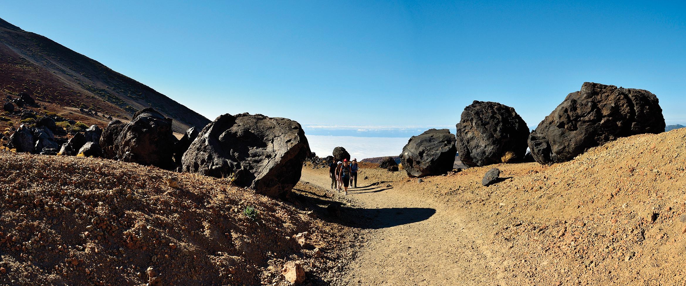 Teide Besteigung ohne Genehmigung: Wanderweg Montaña Blanca