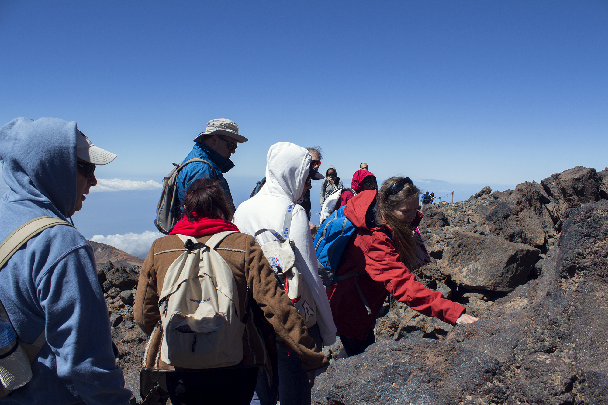 Teide Besteigung ohne Genehmigung: Pico Viejo