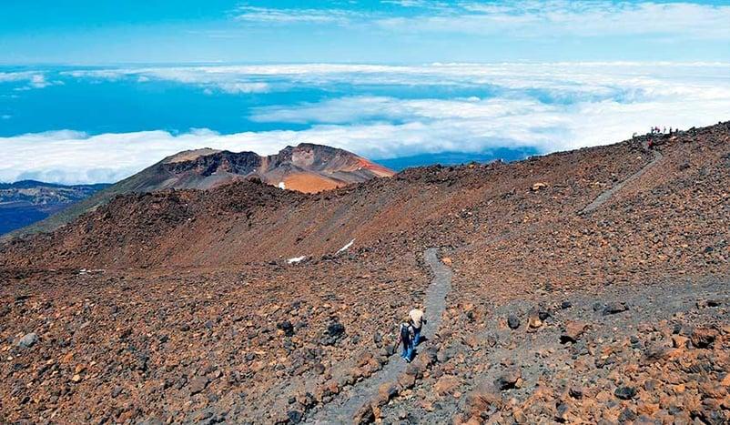 Wanderweg zum Pico Viejo: Teide Besteigung ohne Genehmigung