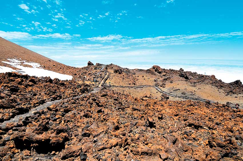 Teide Besteigung ohne Genehmigung: La Fortaleza