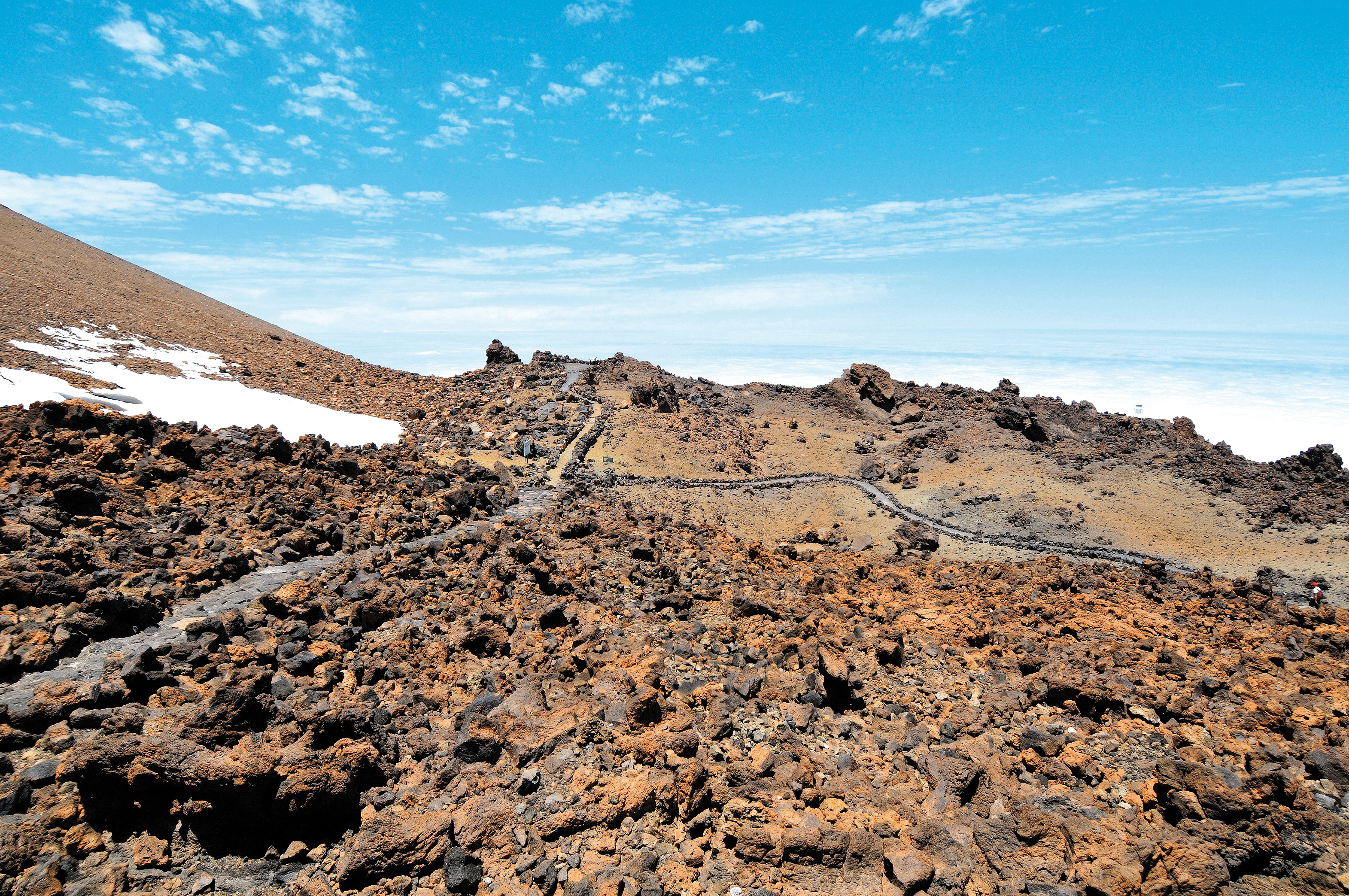 Alternative ways of climbing Teide without a permit: La Fortaleza
