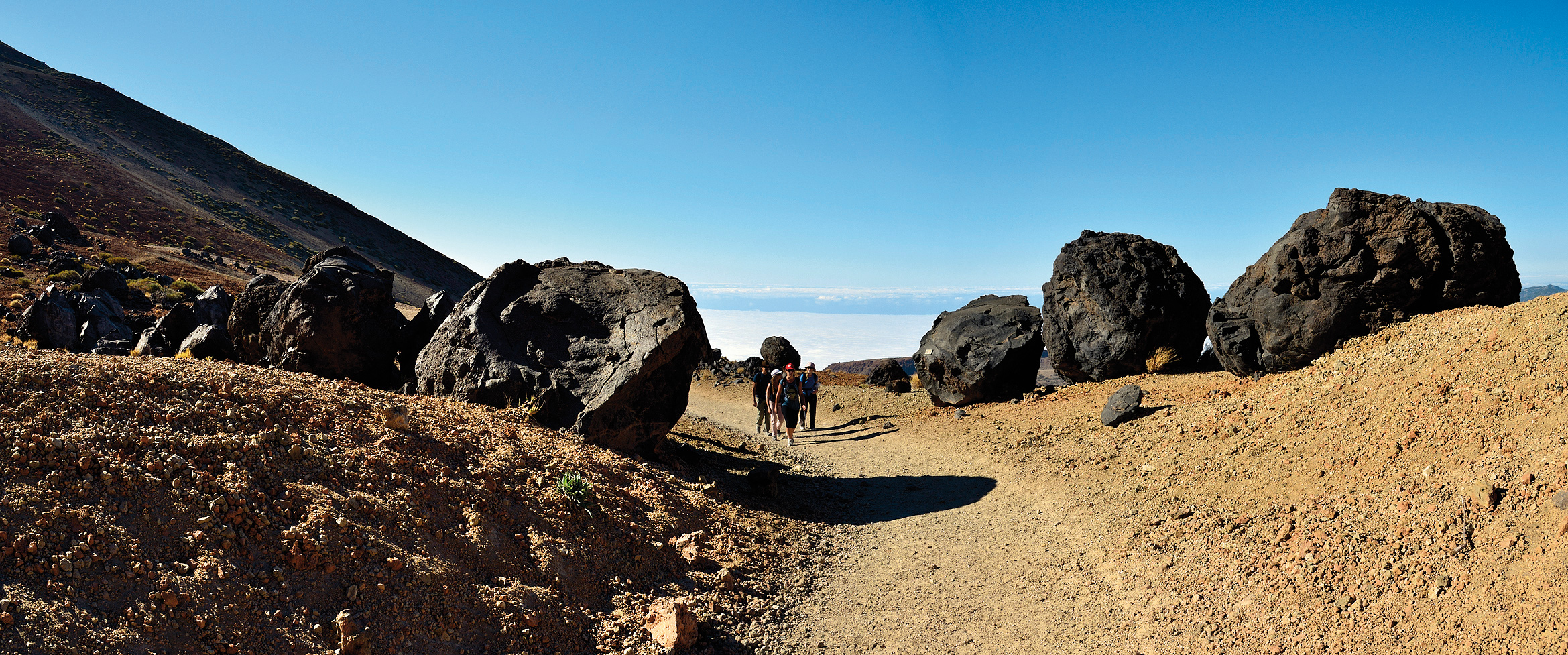 Montaña Blanca trail: Climbing Teide without permit
