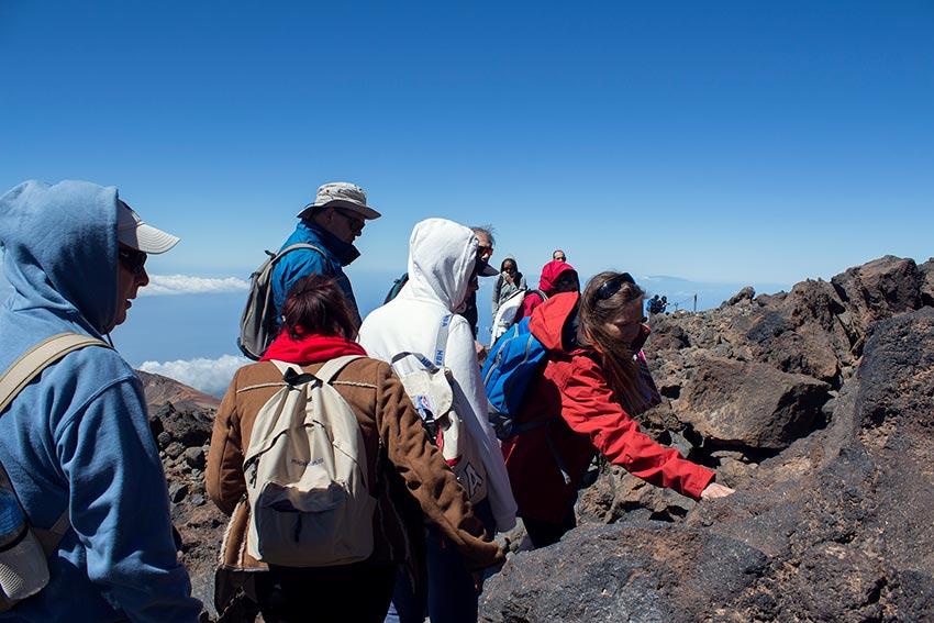 Climbing Teide without permit: Pico Viejo