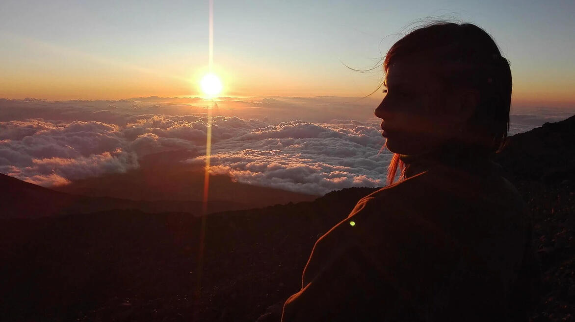 Climbing Teide without permit: Sunset from Pico Viejo