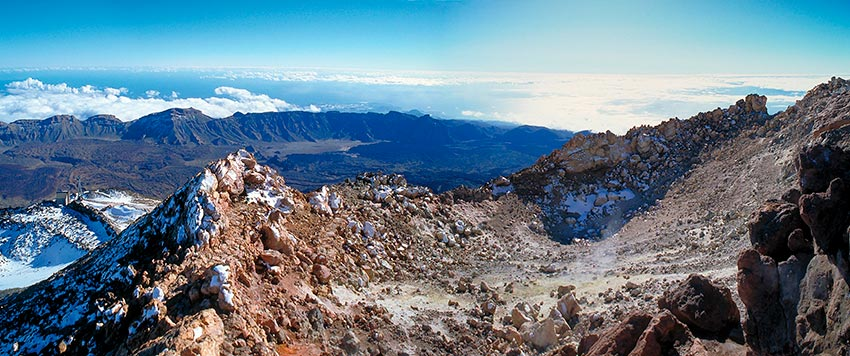 Alternative ways of climbing Teide without a permit