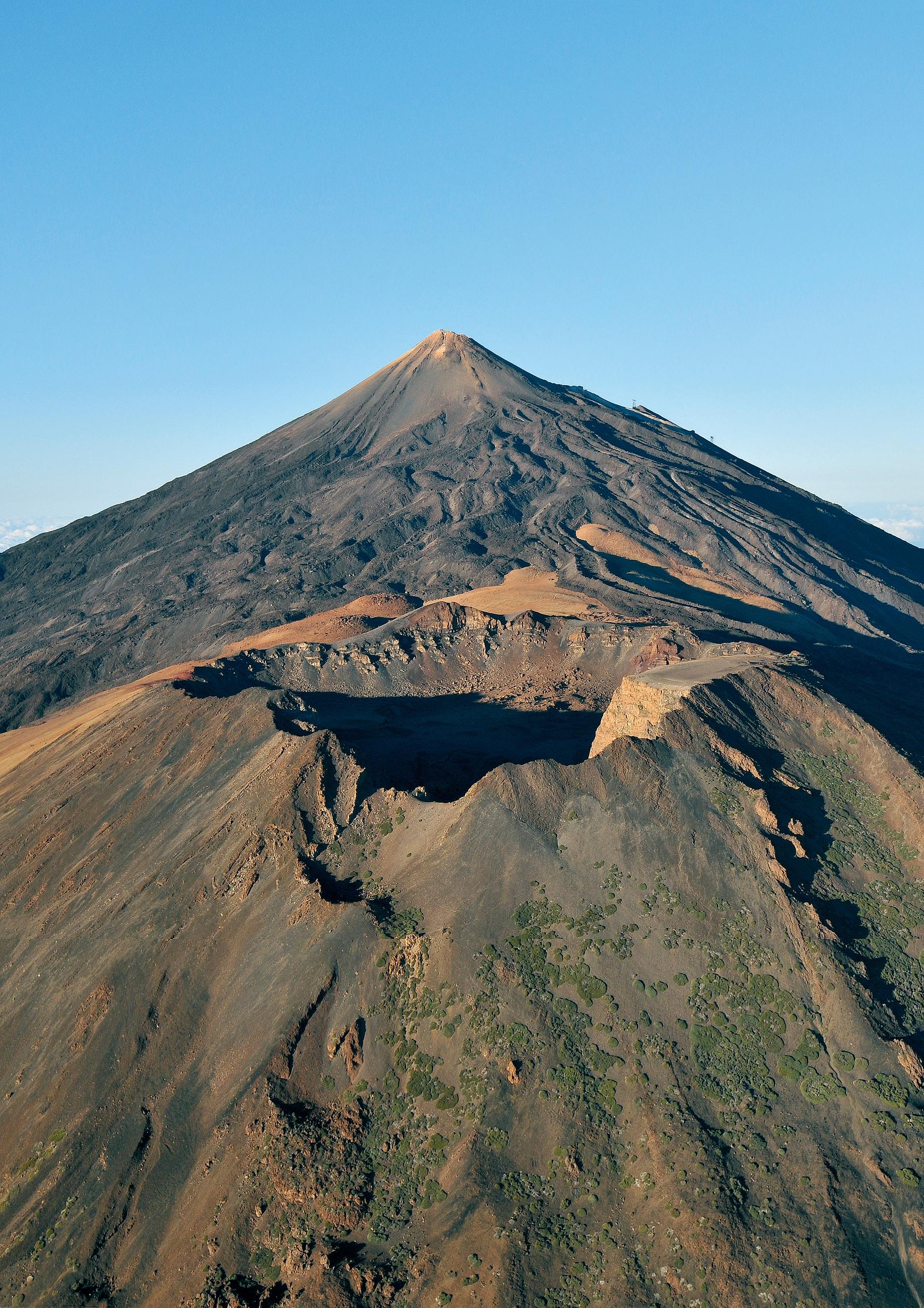 Monter au Teide sans autorisation : cratère Pico Viejo