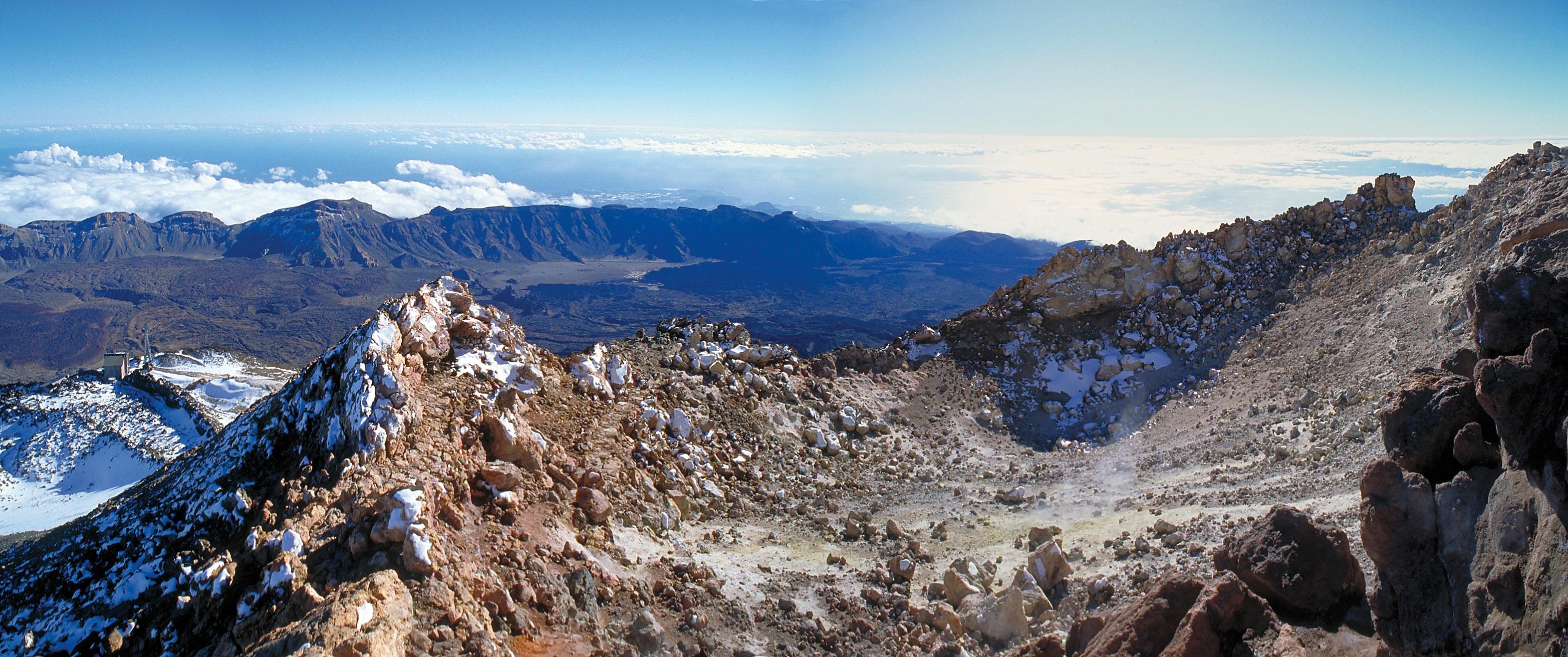 Alcune alternative per salire a piedi sul Teide senza permesso