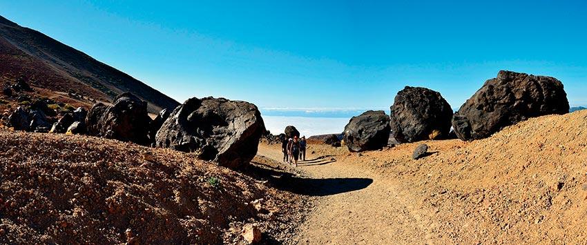 Szlak Montaña Blanca: wejście na Teide bez pozwolenia