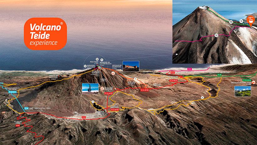Subir al Teide andando: sendero de Montaña Blanca