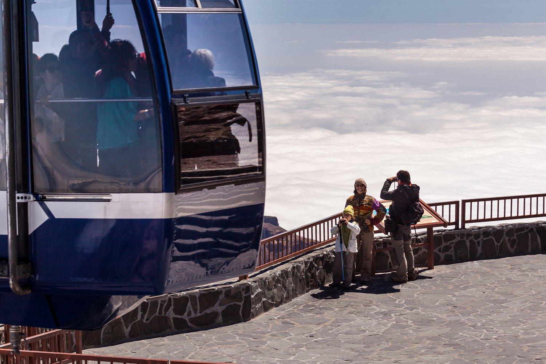 Monter au Teide à pied à l'aide du téléphérique