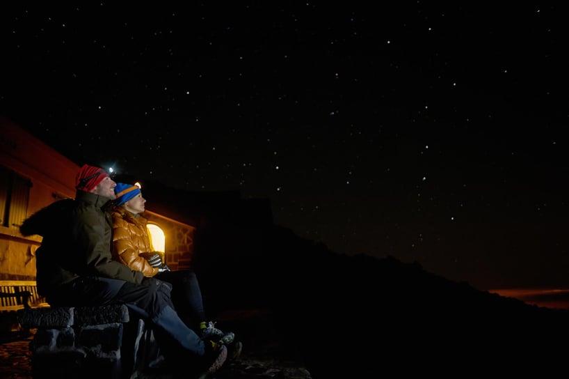 El Teide beklimmen als wandeltocht: slapen in de berghut