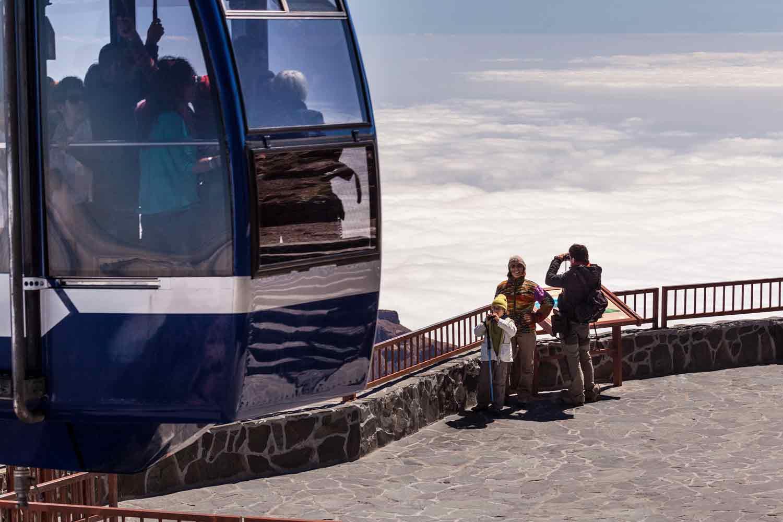 Wejście na Teide pieszo z pomocą Kolejki linowej