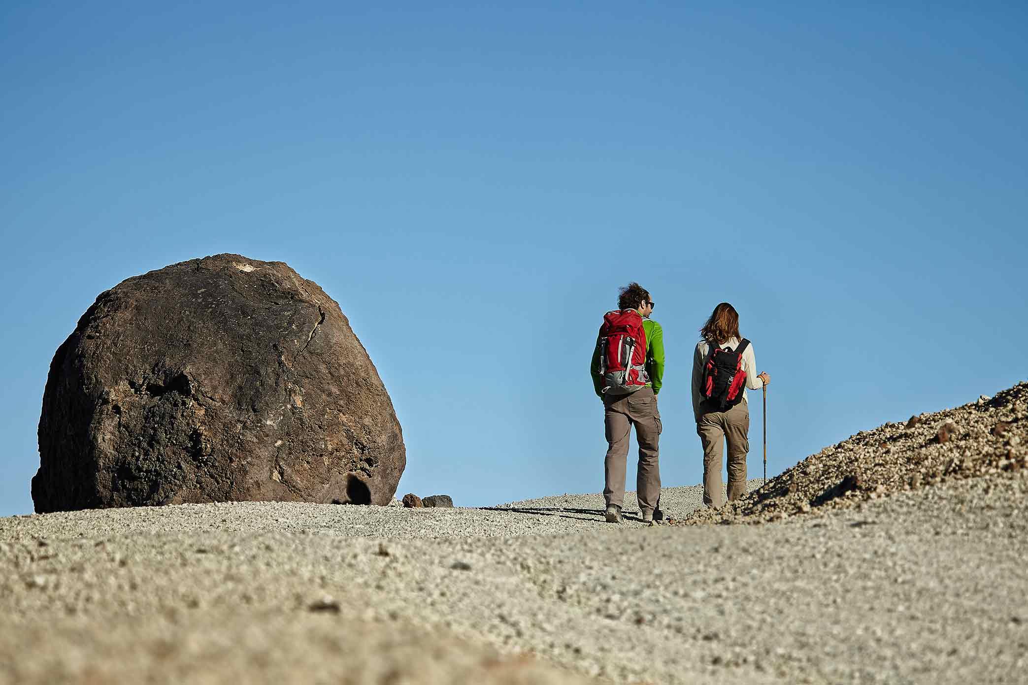 """Wejście na Teide pieszo, aby zobaczyć tak zwane """" jaja Teide"""""""