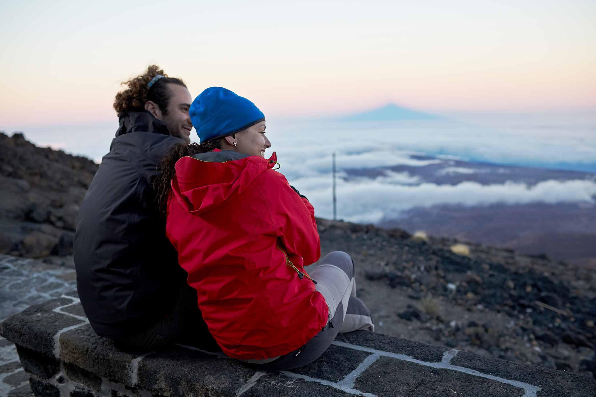 Wejście na Teide pieszo przez Montaña Blanca