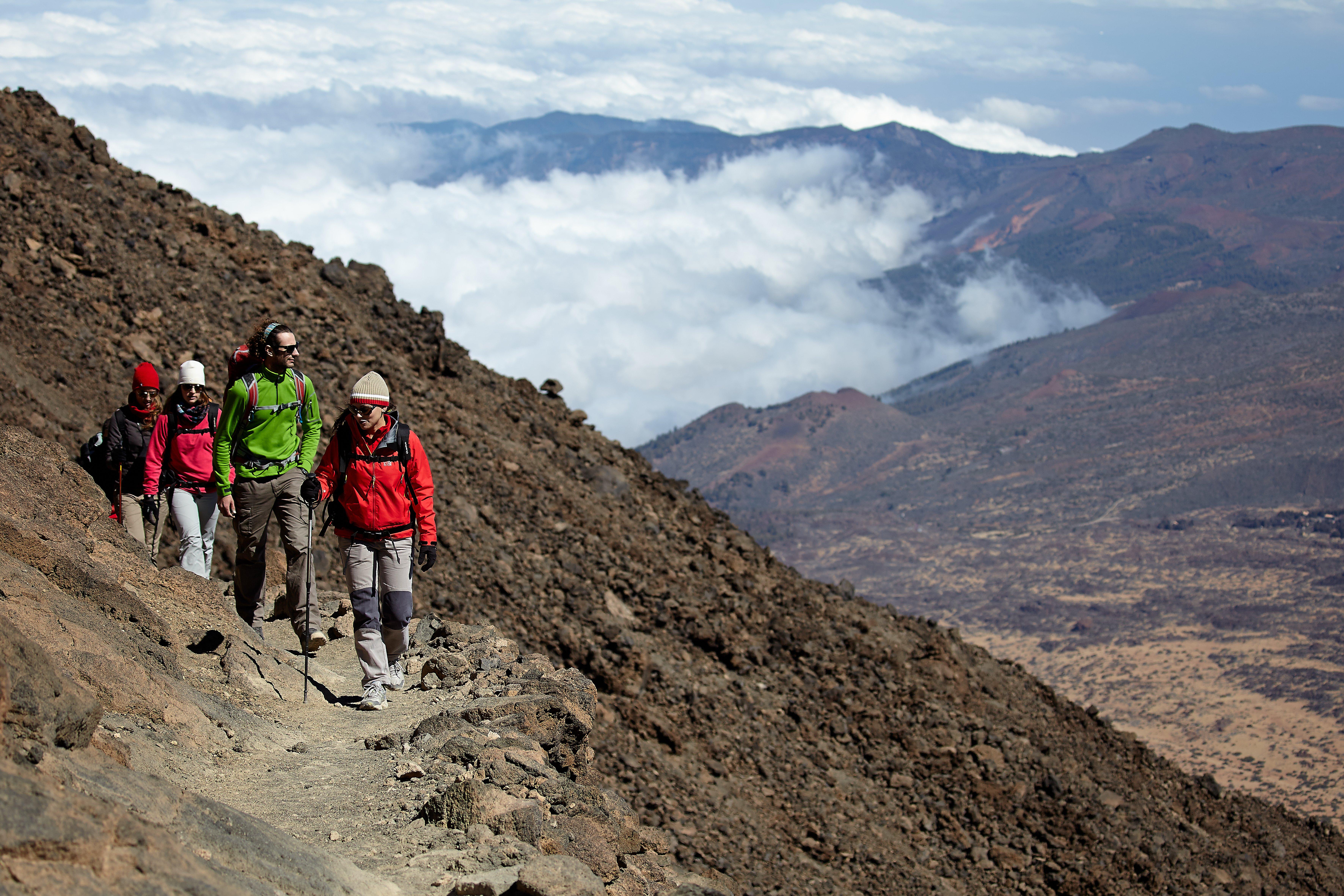 Getting Mount Teide permit online