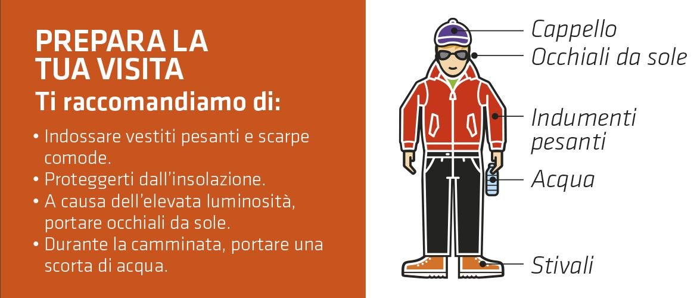 Cosa indossare per salire con il teleferico al Pico del Teide.