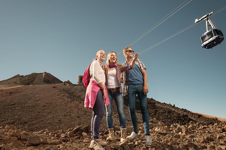 7 motivi per salire sulla cima del Teide con la teleferica del Teide.