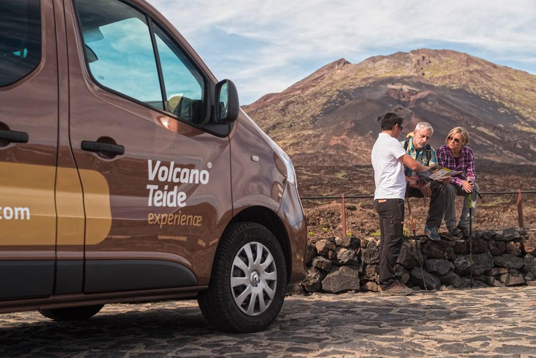 Ascenso al pico del Teide con Teleférico: senderismo