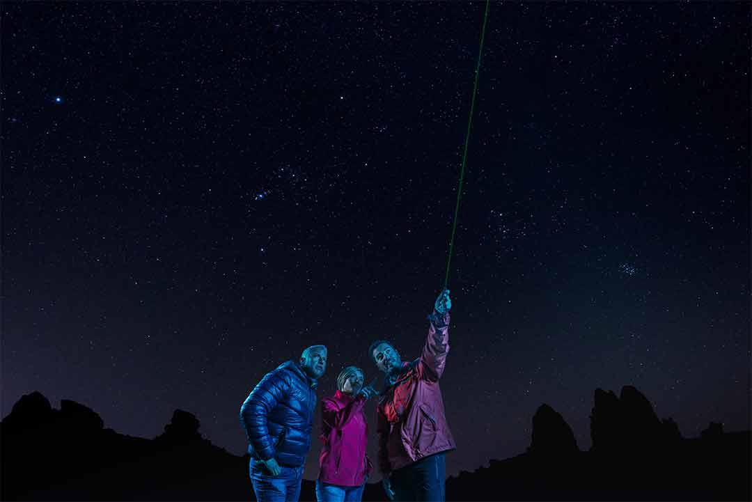 Georganiseerde excursie op Tenerife - de Teide bij nacht