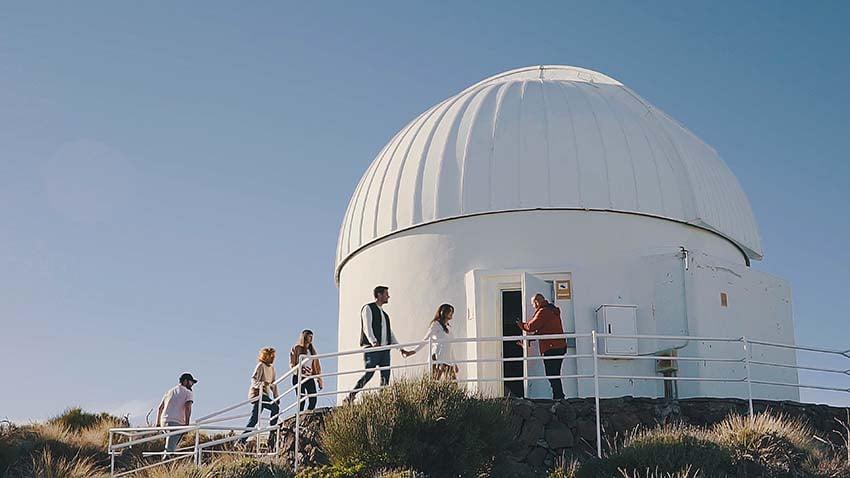 Excursiones al Teide con niños: visitar el Observatorio del Teide
