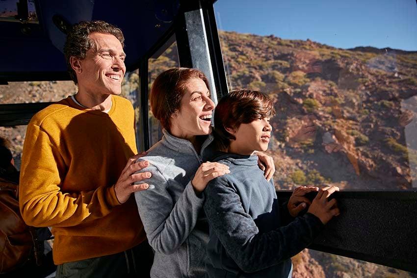 Excursiones al Teide con niños