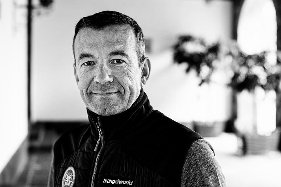 Juan Diego Amador, alpinista canario