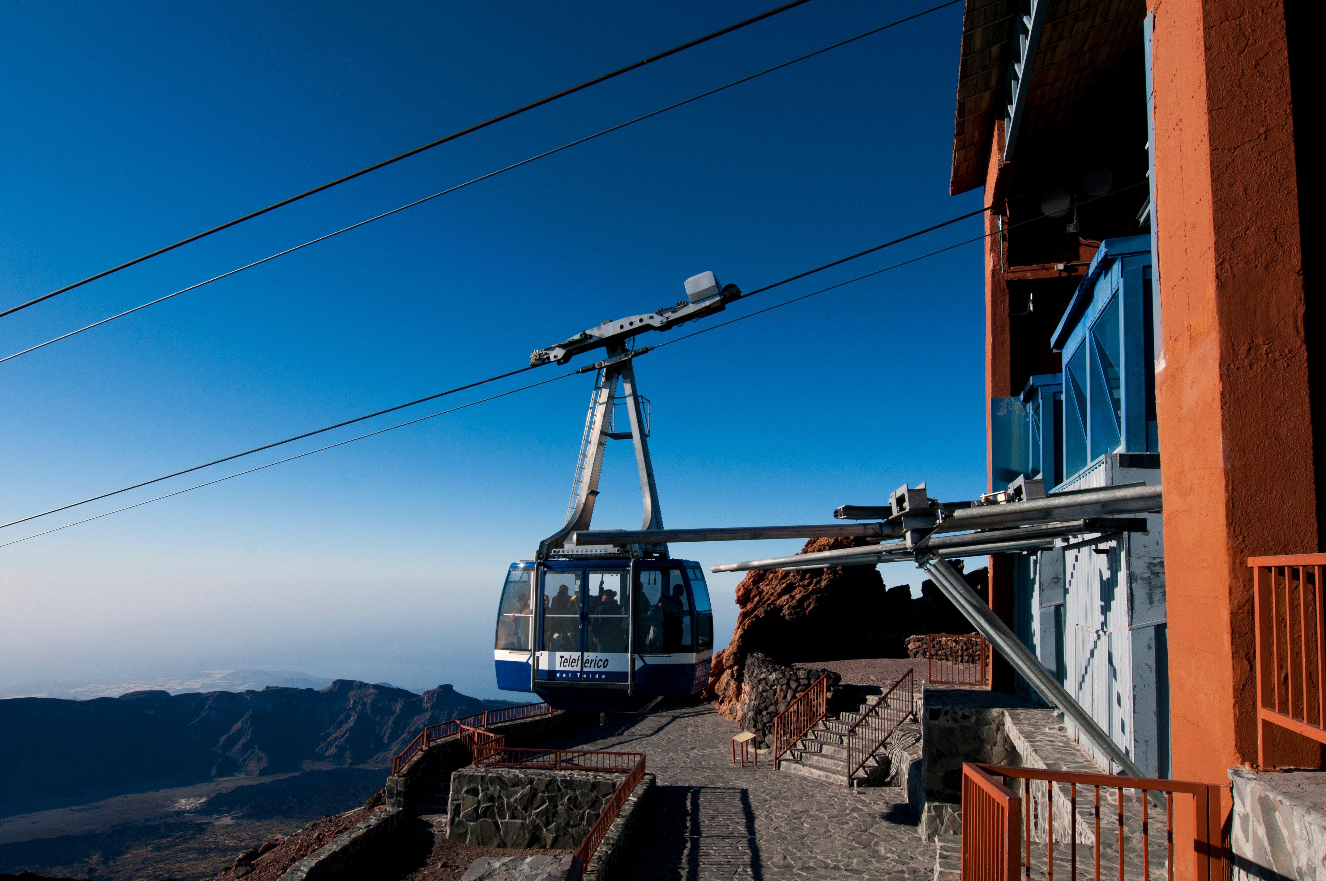 Jak zmienić lub anulować rezerwację na Kolejkę linową na Teide