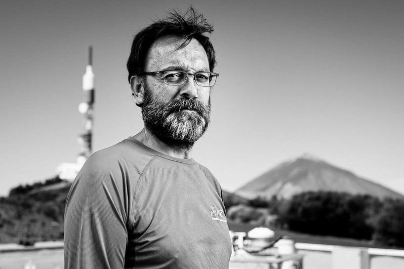 Ramón Ramos, jefe de sistemas de Observatorio de Izaña