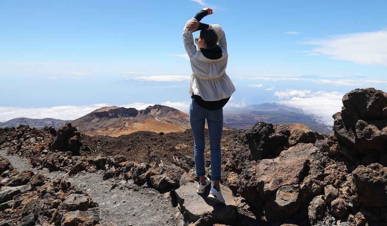 Ruta guiada al Mirador de Pico Viejo en el Teide
