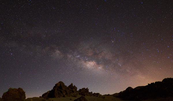 Ver las estrellas y la Vía Láctea en Tenerife