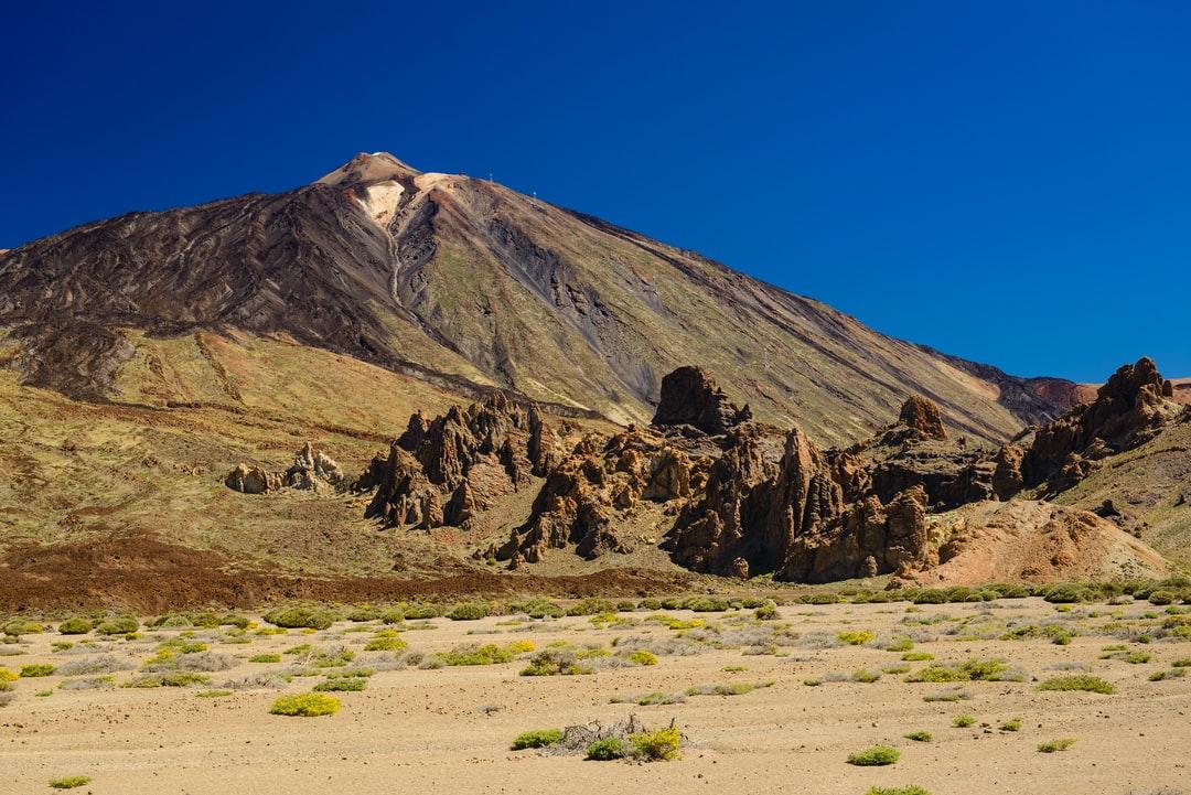 Un jour dégagé pour visiter le Teide