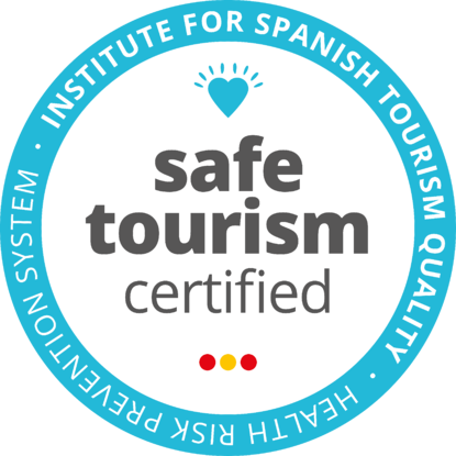 Safe Tourism Certified logo