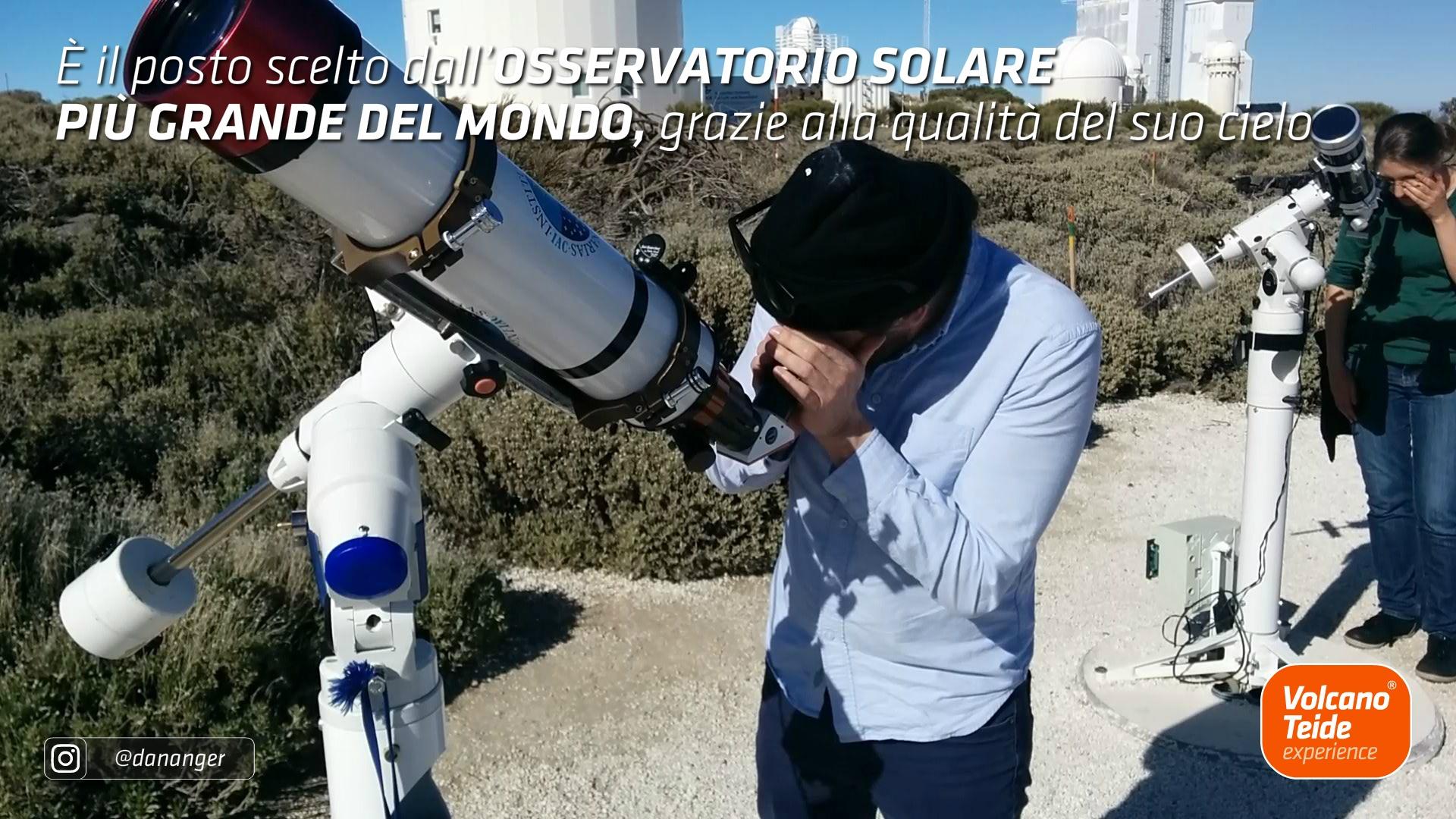 Come si può visitare l'Osservatorio del Teide?