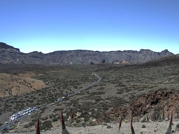 Comment savoir si le Téléphérique du Teide est ouvert- webcam Ucanca