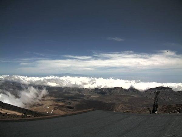 Erfahren Sie, ob die Teide Seilbahn geöffnet ist – Webcam Nationalpark