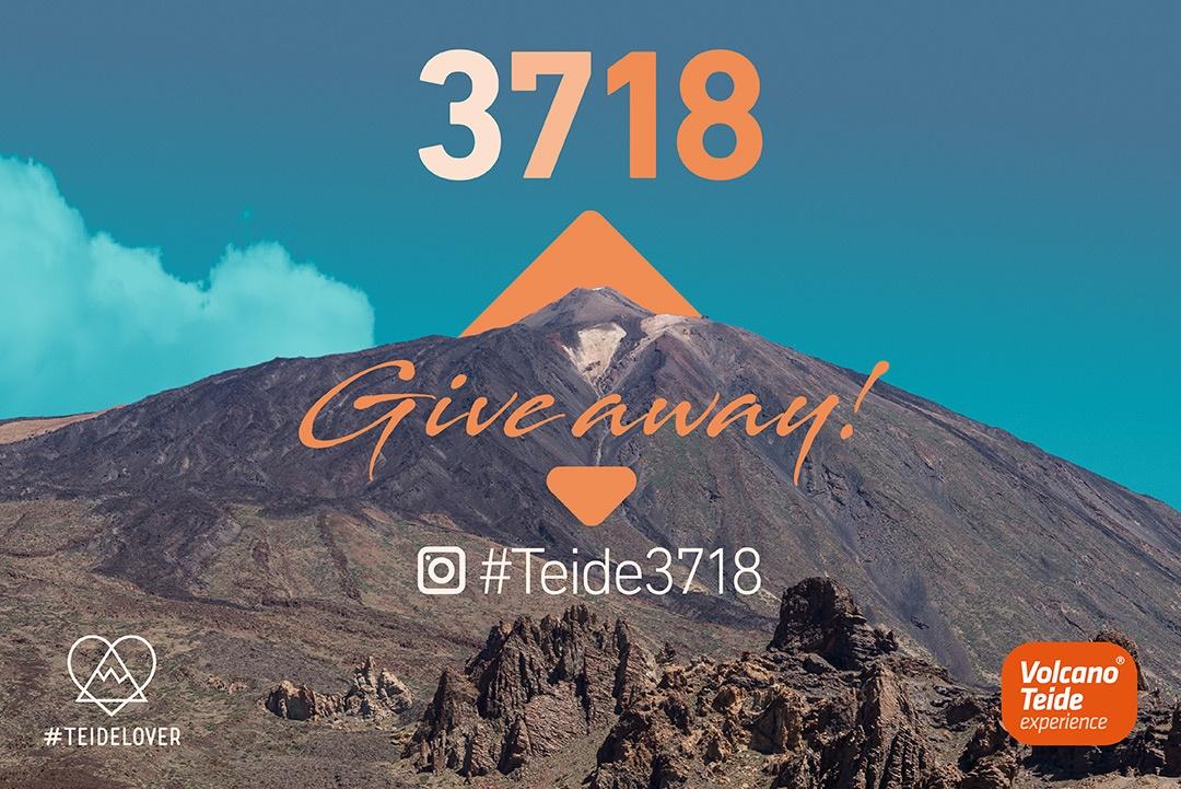 Giveaway #Teide3718