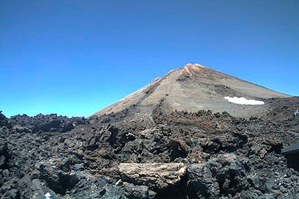 How to check if the Teide Cable Car is running - webcam